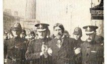 Jim Larkin being arrested
